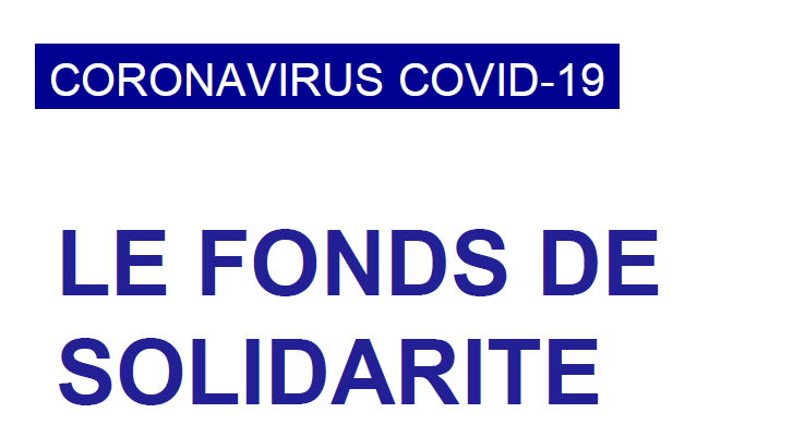 FONDS SOLIDARITÉ